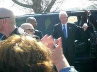 Highlight for album: Bill Clinton's visit to Vandergriff Park