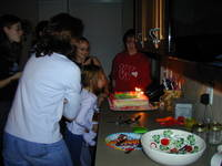 Highlight for album: Julia's Birthday Party, 2004